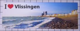 10 stuks koelkastmagneet Vlissingen Zeeland P_ZE5.5003