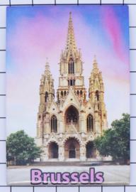 koelkastmagneet Brussels N_BX022