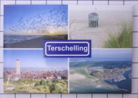 10 stuks koelkastmagneet  Terschelling N_FR10.003