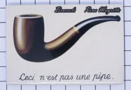 koelkastmagneet Brussels N_BX027 Rene Magritte