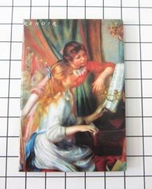 10 stuks koelkastmagneet Auguste Renoir MAC:20.351
