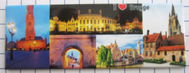 koelkastmagneten Brugge P_BB1010