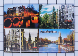 10 stuks koelkastmagneet Amsterdam 19.040