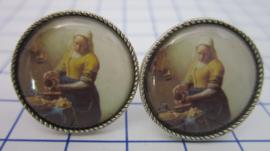 manchetknopen Melkmeisje Johannes Vermeer MAK002