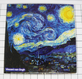 10 stuks Mega koelkastmagneet Vincent Van Gogh MEGA_V_20.402