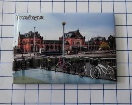 10 stuks koelkastmagneet  Groningen MAC:N_GR1.003