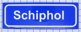 10 stuks koelkastmagneet Schiphol plaatsnaambord  P_NH19.0001