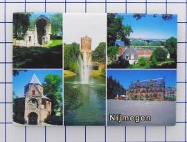 10 stuks koelkastmagneet Nijmegen N_GE1.010