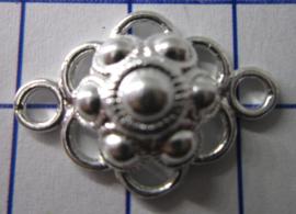 ZB206-Z Zeeuwse Knop echt Zilver