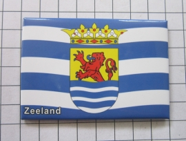 10 stuks koelkastmagneet val met wapen Zeeland N_ZE1.019