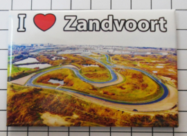 10 stuks koelkastmagneet  Zandvoort  N_NH8.511 uitverkocht komt weer in december