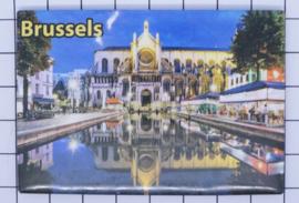 koelkastmagneet Brussels N_BX003