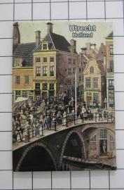 10 stuks koelkastmagneet  Utrecht N_UT1.008