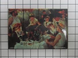 10 stuks koelkastmagneet Auguste Renoir MAC:20.350