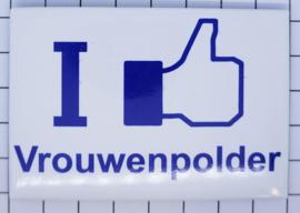 10 stuks koelkastmagneet I like Vrouwenpolder N_ZE8.303