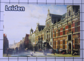 10 stuks koelkastmagneet  Leiden N_ZH6.013