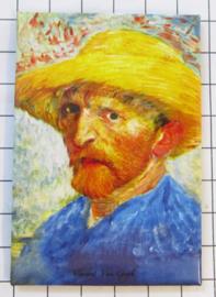 10 stuks koelkastmagneet Van Gogh  MAC:20.408
