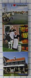 10 stuks koelkastmagneet Volendam  P_NH4.0017