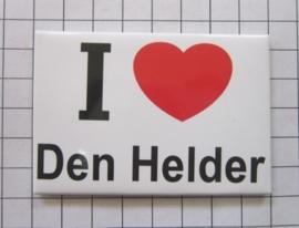 10 stuks koelkastmagneet I love Den Helder  N_NH8.001