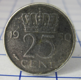 ring 25cent 1950