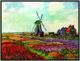 pak 25 posters(35.5Cm / 27.2Cm) POS006 molen Claude Monet
