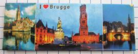 koelkastmagneten Brugge P_BB1012