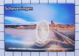 10 stuks koelkastmagneet  Scheveningen  N_ZH9.010