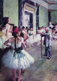 10 stuks poster op karton dansschool Degas POS-0026 posters(20.8Cm / 29.5Cm)