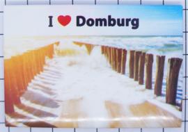 10 stuks koelkastmagneet Domburg N_ZE7.402