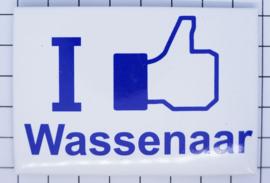 10 stuks koelkastmagneet I like Wassenaar N_ZH14.002