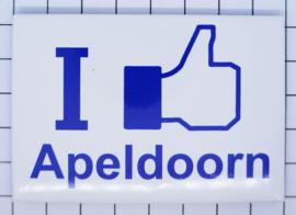 10 stuks koelkastmagneet I like Apeldoorn N_GE5.004