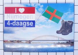 10 stuks koelkastmagneet Nijmegen  N_GE1.021