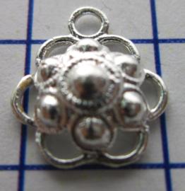 ZB205-Z Zeeuwse Knop echt Zilver