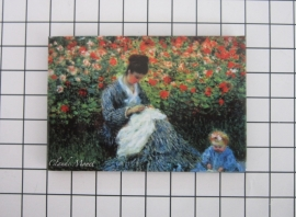 10 stuks koelkastmagneet Claude Monet MAC:20.453