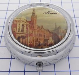 PIL_NH7.001 pillendoosje met spiegel Alkmaar