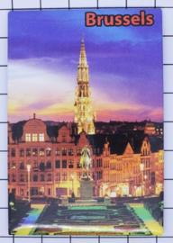 koelkastmagneet Brussels N_BX020