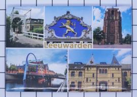 10 stuks koelkastmagneet Leeuwarden N_FR2.009