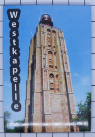 10 stuks koelkastmagneet Zeeland Westkapelle N_ZE7.902