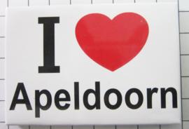 10 stuks koelkastmagneet I love Apeldoorn N_GE5.001