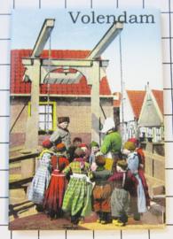 10 stuks koelkastmagneet  Volendam holland N_NH4.009