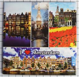 10 stuks Mega koelkastmagneet Amsterdam MEGA_V_20.002