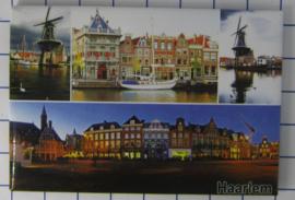 10 stuks koelkastmagneet  Haarlem N_NH5.004