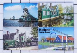 10 stuks koelkastmagneet  Holland 20.261