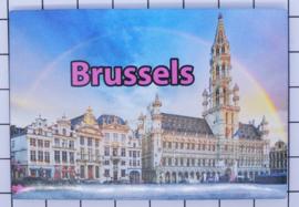 koelkastmagneet Brussels N_BX017