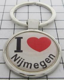 SLE_GE1.001 Sleutelhanger I love Nijmegen