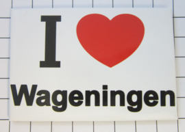 10 stuks koelkastmagneet I love Wageningen N_GE3.001