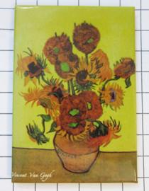 10 stuks koelkastmagneet Van Gogh  MAC:20.400