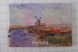 10 stuks koelkastmagneet Holland MAC:20.229 Claude Monet