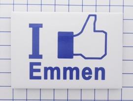 N DR1.002 I like Emmen koelkastmagneet 10 stuks
