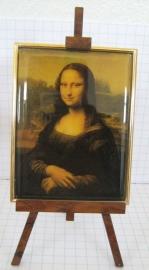 SCH010 schildersezel 22 cm hoog , Mona Lisa